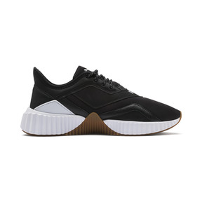 Thumbnail 5 of Defy Stitched Women's Training Shoes, Puma Black-Puma White, medium