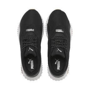 Thumbnail 6 of Defy Stitched Women's Training Shoes, Puma Black-Puma White, medium