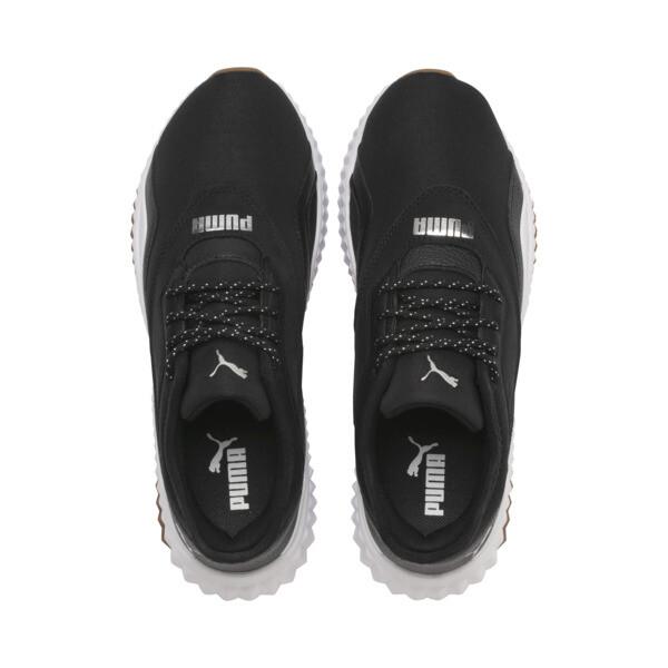 Damskie buty treningowe Defy szyte, Puma Black-Puma White, obszerny