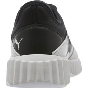 Thumbnail 4 of Defy Stitched Z Women's Training Shoes, Puma Black-Glacier Gray, medium