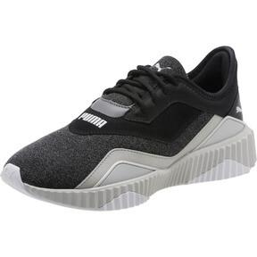 Thumbnail 1 of Defy Stitched Z Women's Training Shoes, Puma Black-Glacier Gray, medium