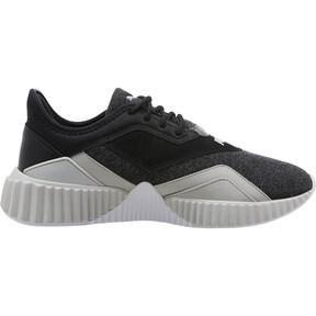 Thumbnail 3 of Defy Stitched Z Women's Training Shoes, Puma Black-Glacier Gray, medium