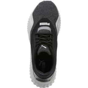 Thumbnail 5 of Defy Stitched Z Women's Training Shoes, Puma Black-Glacier Gray, medium