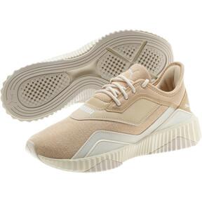 Thumbnail 2 of Defy Stitched Z Women's Training Shoes, Pebble-Whisper White, medium
