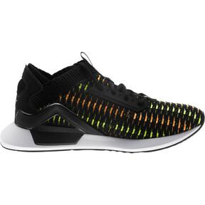 Thumbnail 4 of Rogue Corded Men's Sneakers, Puma Black-Orange Pop, medium