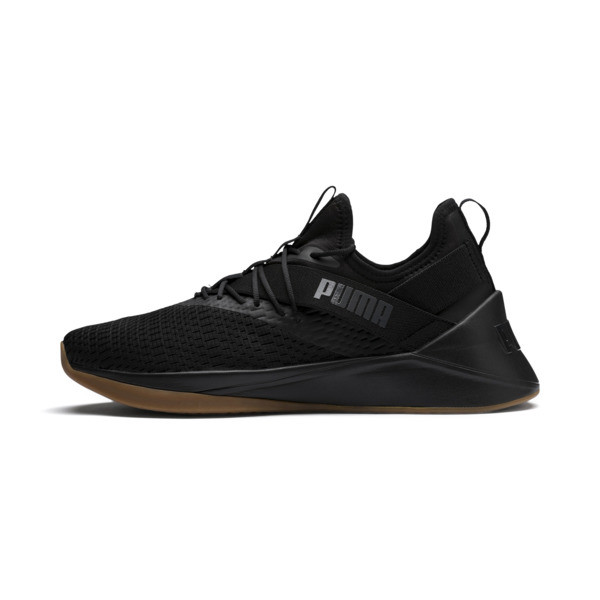 Jaab XT Summer Men's Trainers, Puma Black-Asphalt, large