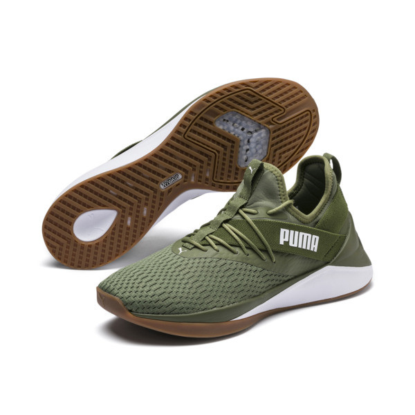 Jaab XT Summer Men's Training Shoes, Olivine-Puma White, large