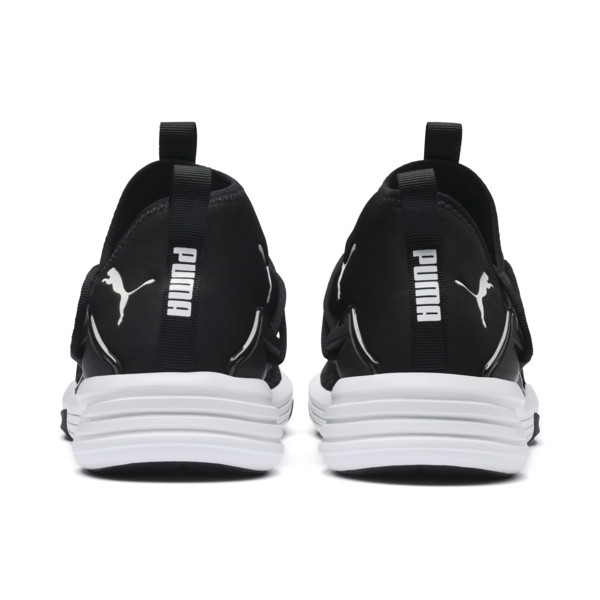 Mantra Men's Trainers, Puma Black-Puma White, large