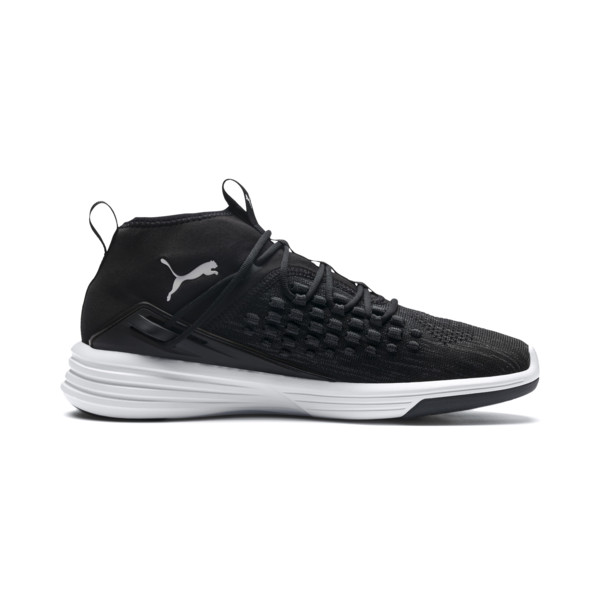 Basket Mantra pour homme, Puma Black-Puma White, large