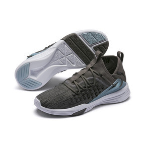 Thumbnail 2 of Mantra Men's Training Shoe, Charcoal Gray-Puma White, medium