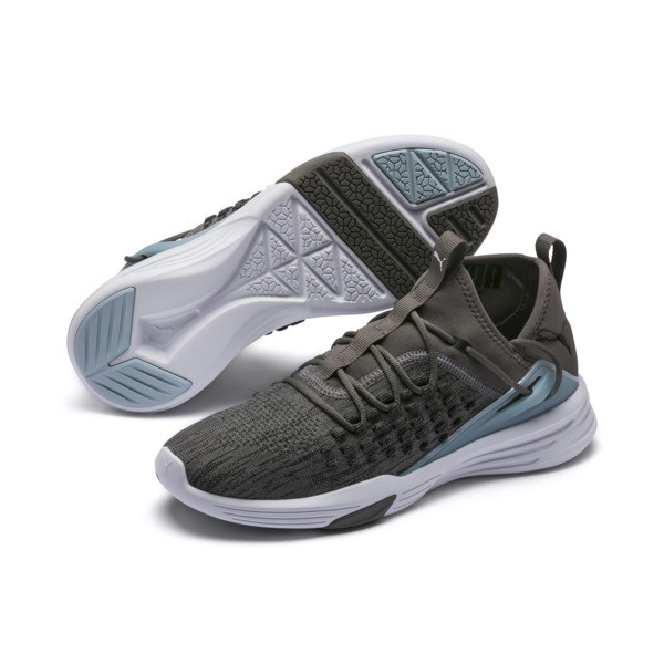 Mantra Men's Training Shoe, Charcoal Gray-Puma White, large