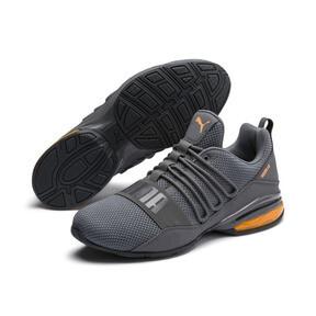Thumbnail 2 of CELL Regulate Woven Men's Running Shoes, Charcoal Gray, medium