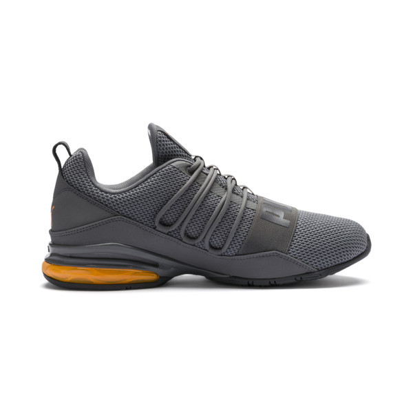 CELL Regulate Woven Men's Running Shoes, Charcoal Gray, large