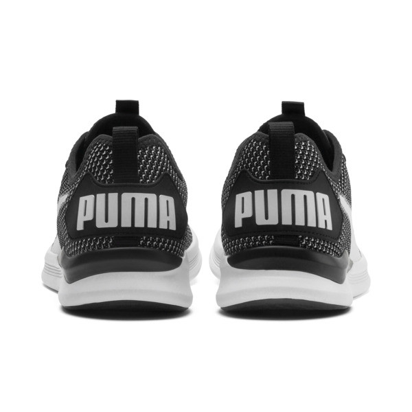 IGNITE Flash FS Men's Running Shoes, Puma Black-Puma White, large