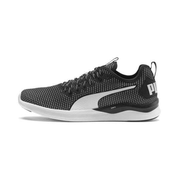 IGNITE Flash FS Herren Laufschuhe, Puma Black-Puma White, large