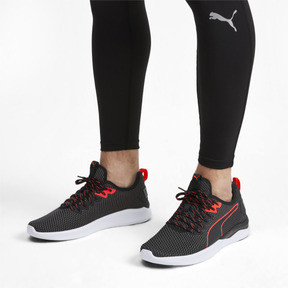 Miniatura 2 de Zapatos de entrenamiento IGNITE Flash para hombre, Puma Black-Nrgy Red, mediano