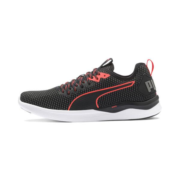 Zapatos de entrenamiento IGNITE Flash para hombre, Puma Black-Nrgy Red, grande