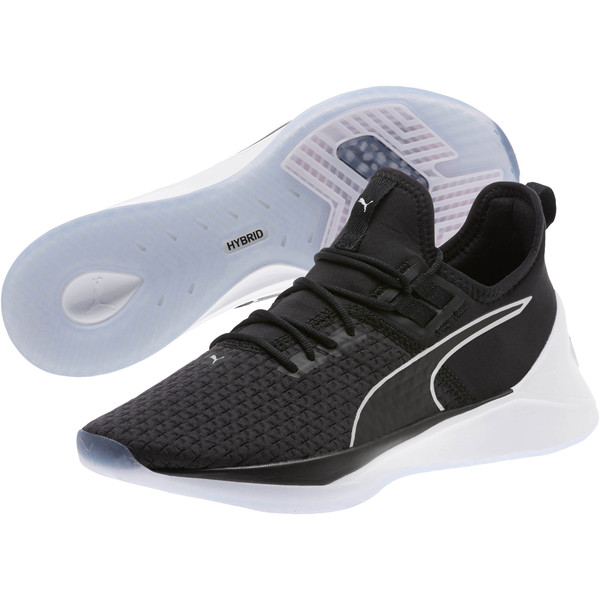 Jaab XT FS Women's Training Shoes, Puma Black-Puma White, large