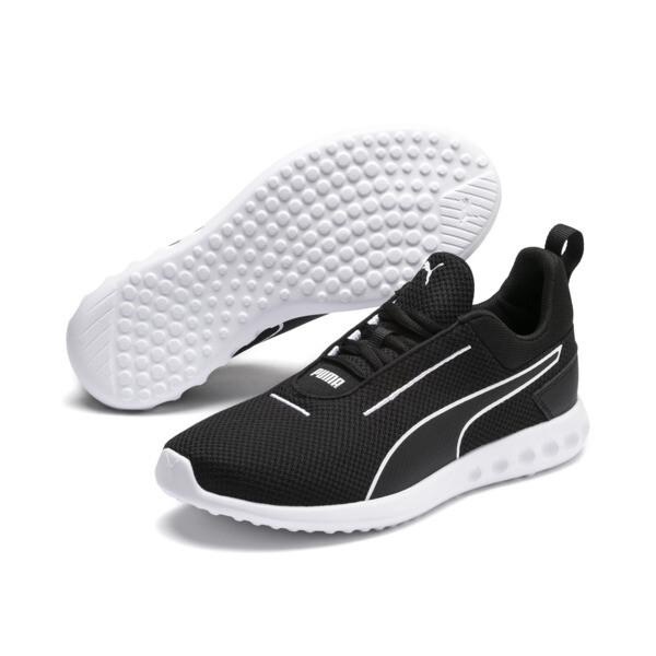 Damskie buty sportowe Carson 2 Concave, Puma Black-Puma White, obszerny