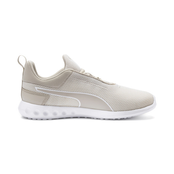 Carson 2 Concave Women's Trainers, Silver Gray-Puma White, large