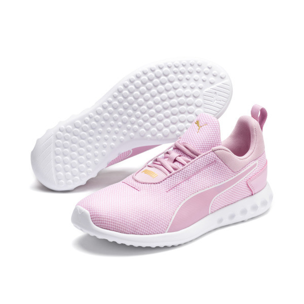 Carson 2 Concave Women's Trainers, Pale Pink-Puma White, large