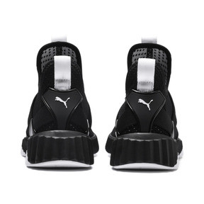 Thumbnail 4 of Defy Mid Core Women's Trainers, Puma Black-Puma White, medium