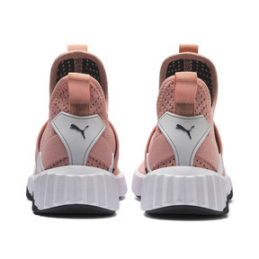 Thumbnail 4 of Basket Defy Mid Core pour femme, Peach Bud-Puma White, medium