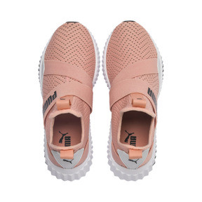 Thumbnail 7 of Defy Mid Core Women's Trainers, Peach Bud-Puma White, medium