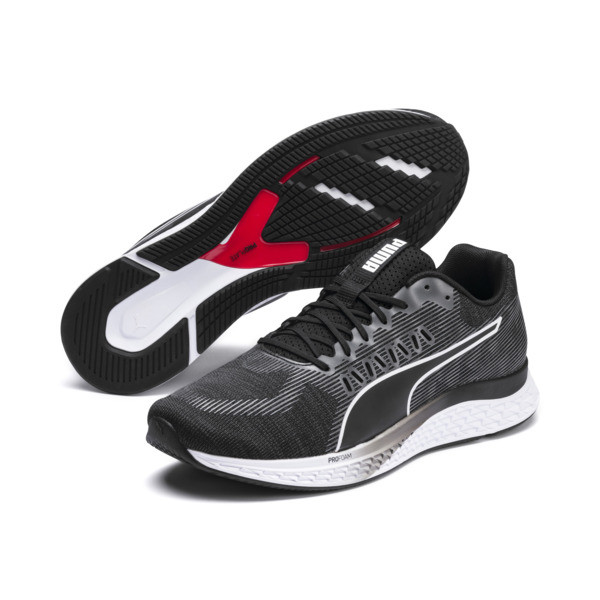 SPEED SUTAMINA Running Shoes, Puma Black-Puma White, large