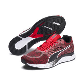 Thumbnail 2 of SPEED SUTAMINA Running Shoes, High Risk Red-Puma Black, medium