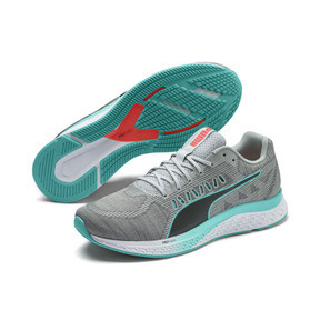 Thumbnail 3 of Chaussure de course SPEED SUTAMINA, High Rise-Nrgy Red-Blue Turq, medium