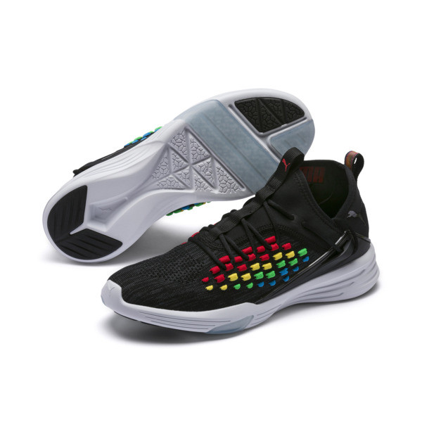 Mantra HEATMAP Men's Training Shoes, Puma Black-Puma White, large
