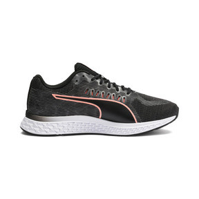 Thumbnail 5 of Speed Sutamina Women's Running Shoes, Puma Black-Gray-Peach, medium