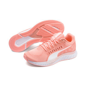 Thumbnail 2 of Speed Sutamina Women's Running Shoes, Bright Peach-Peach Bud-White, medium