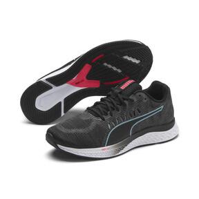 Thumbnail 3 of Speed Sutamina Women's Running Shoes, Black-Milky Blue-Pink Alert, medium