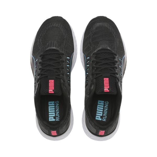 Zapatillas de running de mujer Speed Sutamina, Black-Milky Blue-Pink Alert, grande
