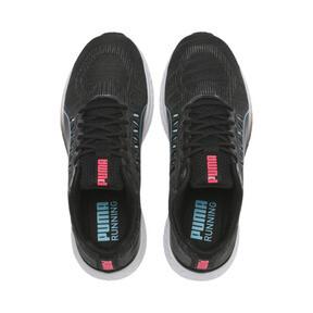 Miniatura 7 de Zapatos para correr SPEED Sutamina para mujer, Black-Milky Blue-Pink Alert, mediano