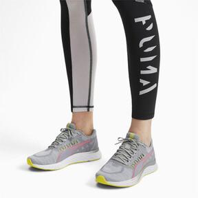 Thumbnail 2 of SPEED Sutamina Women's Running Shoes, Quarry-Yellow Alert-Pink, medium