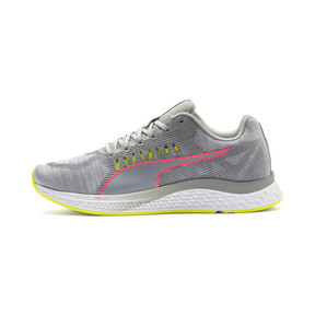 Thumbnail 1 of Speed Sutamina Women's Running Shoes, Quarry-Yellow Alert-Pink, medium