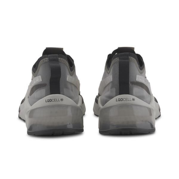 LQDCELL Optic Sheer Men's Training Shoes, Gray Violet-Puma Black, large