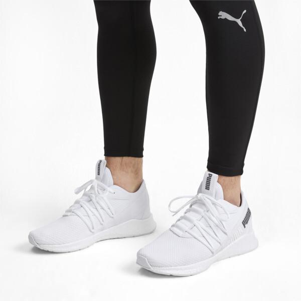 NRGY Star Running Shoes, Puma White-CASTLEROCK, large