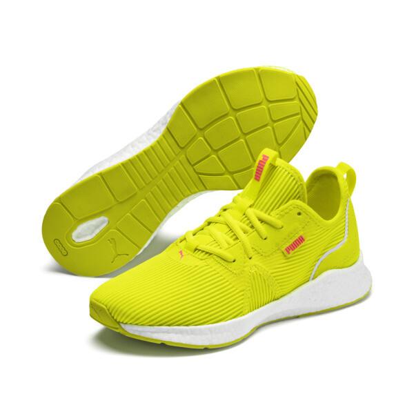 NRGY Star Femme Women's Running Shoes, Yellow Alert-Pink Alert, large
