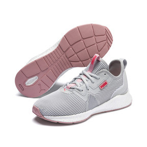 Thumbnail 2 of NRGY Star Femme Women's Running Shoes, Glacier Gray-Pink-White, medium