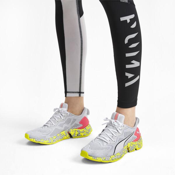 HYBRID SPEED Orbiter Women's Running Shoes, Puma White-Yellow Alert, large