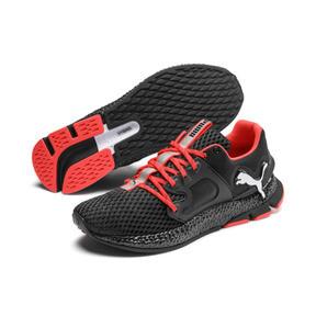 Thumbnail 3 of HYBRID Sky Men's Running Shoes, Black-White-Nrgy Red, medium