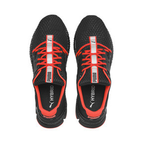 Thumbnail 7 of HYBRID Sky Men's Running Shoes, Black-White-Nrgy Red, medium