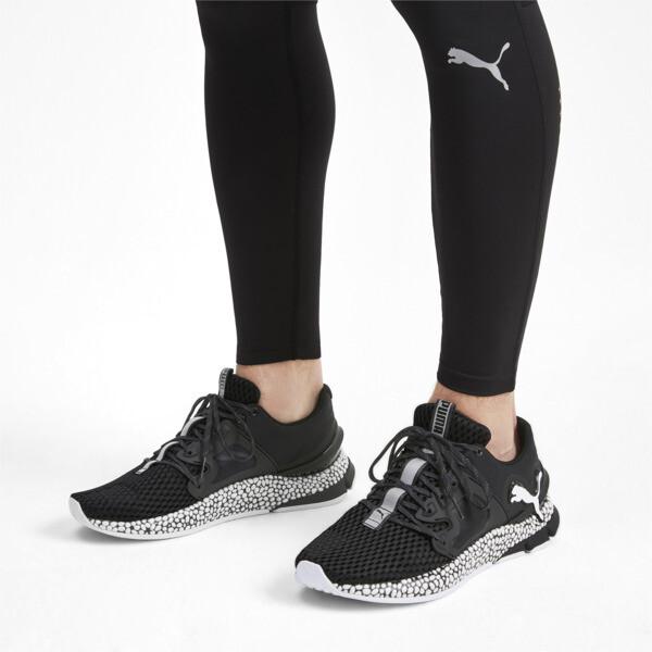 HYBRID Sky Men's Running Shoes, Puma Black-Puma White, large