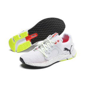 Thumbnail 3 of HYBRID Sky Men's Running Shoes, White-Black-Nrgy Red, medium