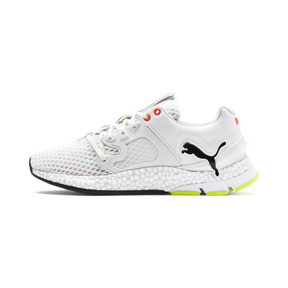 Thumbnail 1 of HYBRID Sky Men's Running Shoes, White-Black-Nrgy Red, medium