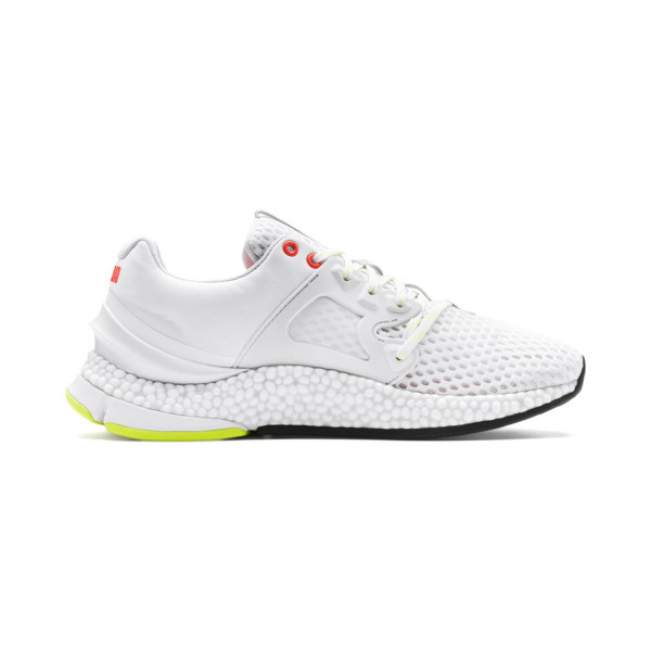 HYBRID Sky Men's Running Shoes, White-Black-Nrgy Red, large